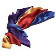 Satin scarves