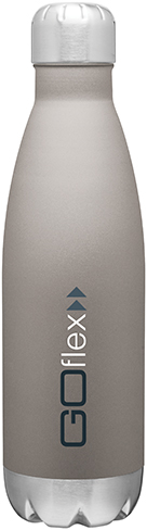 force gray bottle stainless drinkware